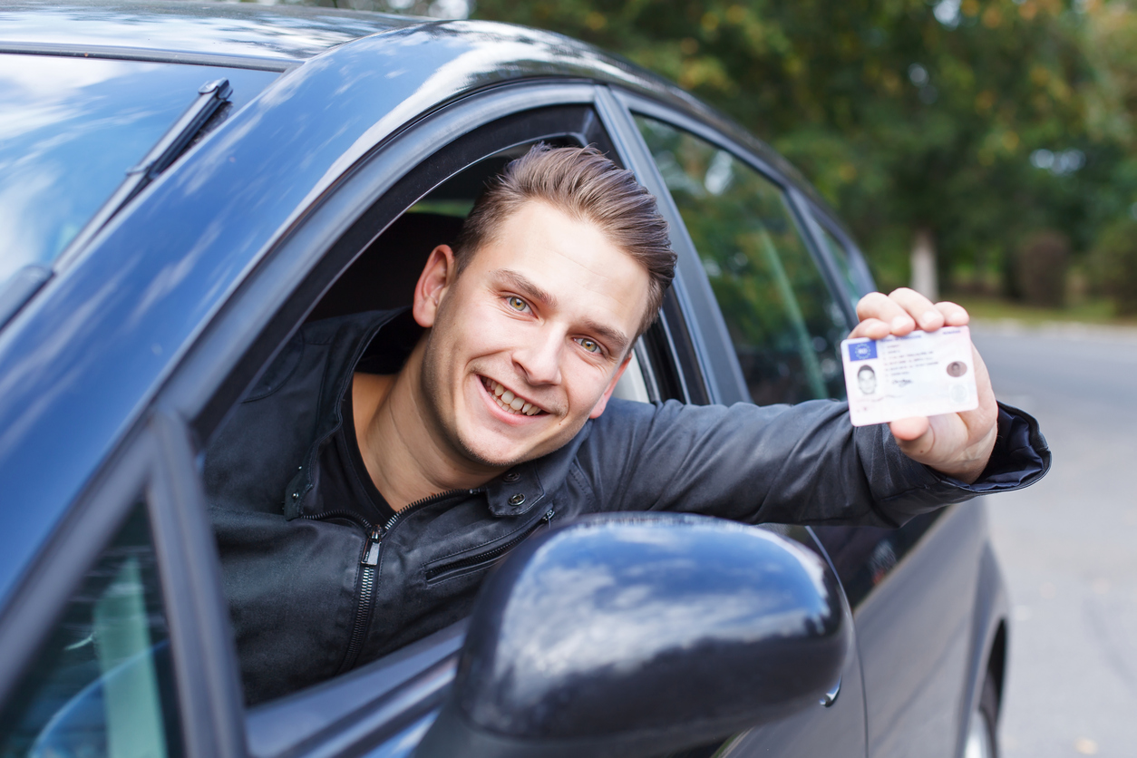 Att ta körkort